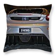 Ferrari F430 No 1 Throw Pillow