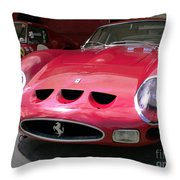 Ferrari Gto Throw Pillow