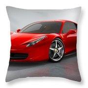 Ferrari Italia  Throw Pillow