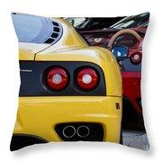 Ferrari Pair Throw Pillow