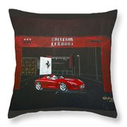 Ferrari Pininfarina Rossa Concept Throw Pillow