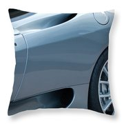 Ferrari Wheel Throw Pillow