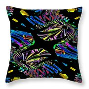 Ferris Wheel 3 Throw Pillow