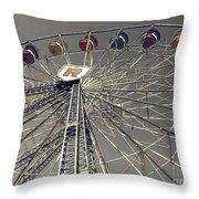Ferris Wheel 5 Throw Pillow