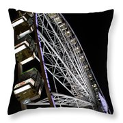 Ferris Wheel At Night 16x20 Throw Pillow