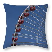 Ferris Wheel II Throw Pillow