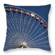 Ferris Wheel IIi Throw Pillow
