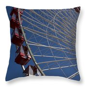 Ferris Wheel Iv Throw Pillow
