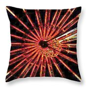 Ferris Wheel Throw Pillow
