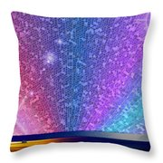 Ferry Tale Ending Throw Pillow