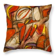 Fertile Seed Throw Pillow