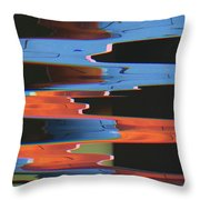 Festival  Of Eccentricities Freshening Our Aesthetic Fantasies #25 Throw Pillow