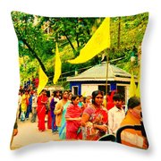 Festival Throw Pillow