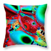 Festive Lights Of Christmas Throw Pillow