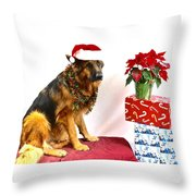Festive Oskar Throw Pillow