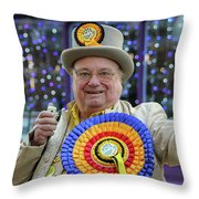 Festive Rochester Throw Pillow