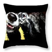 Fetched Throw Pillow