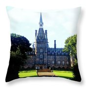 Fettes Front Elevation Throw Pillow