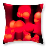 Fever Pitch Throw Pillow