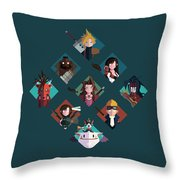 Ff Design Series Throw Pillow