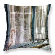 A Century Of Looking Out...and I Look In Throw Pillow