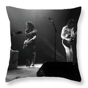 Fhat#68 Enhanced Bw Throw Pillow