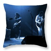 Fhat#68 Enhanced In Blue Throw Pillow