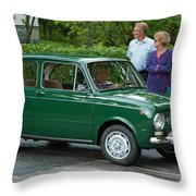 Fiat 850 Special Throw Pillow