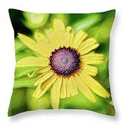 Fibonacci In The Light Throw Pillow