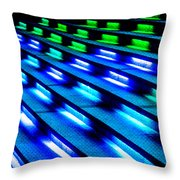 Fibonacci Patterns Throw Pillow