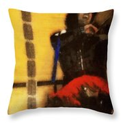 Fiddle Frenzy Throw Pillow