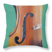 Fiddle I Throw Pillow