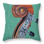 Fiddle Iv Throw Pillow