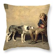Fidelity Throw Pillow