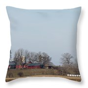 Field And Farms Throw Pillow