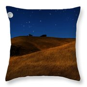 Field Formation Throw Pillow