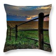 Field Of Dreams II Throw Pillow