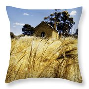 Field Of Faith Throw Pillow