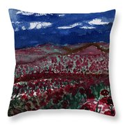 Field Of Hell Throw Pillow