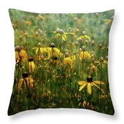 Field Of Yellow 2498 Idp_2 Throw Pillow