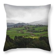 Fields In The Hill Throw Pillow