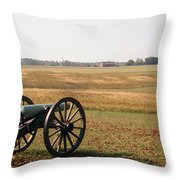 Fields Of Death Throw Pillow