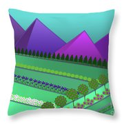 Fields Of Dreams Throw Pillow