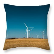 Fields Of Energy Throw Pillow