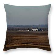 Fields Throw Pillow