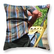 Fierce Competitors Throw Pillow
