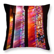 Fiery Light 1 Throw Pillow