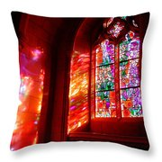 Fiery Light 2 Throw Pillow