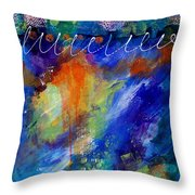 Fiesta 002 Throw Pillow