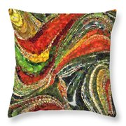 Fiesta Mexicana Throw Pillow